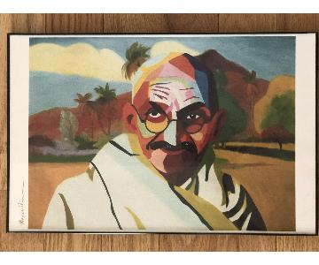 Gandhi Wall Art