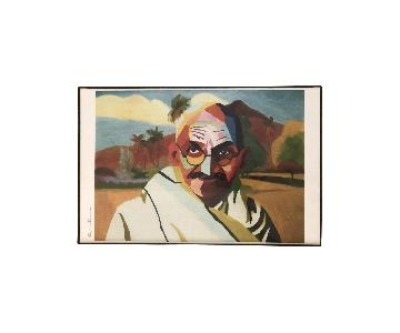 Gandhi Wall Art