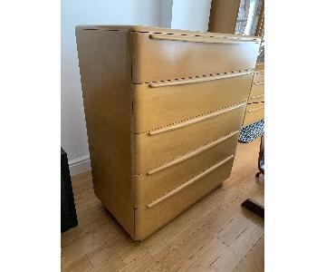 Heywood Wakefield 5 Drawer Highboy Dresser