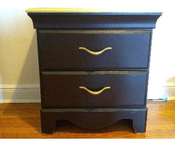 Kathy Ireland 2-Drawer Wooden Chest