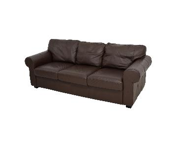 Ikea Ektorp Brown Sofa