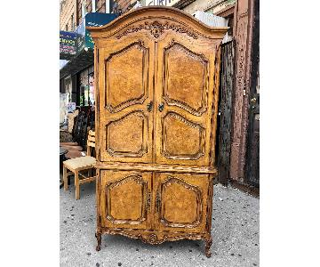 Thomasville Vintage Solid Wood Armoire