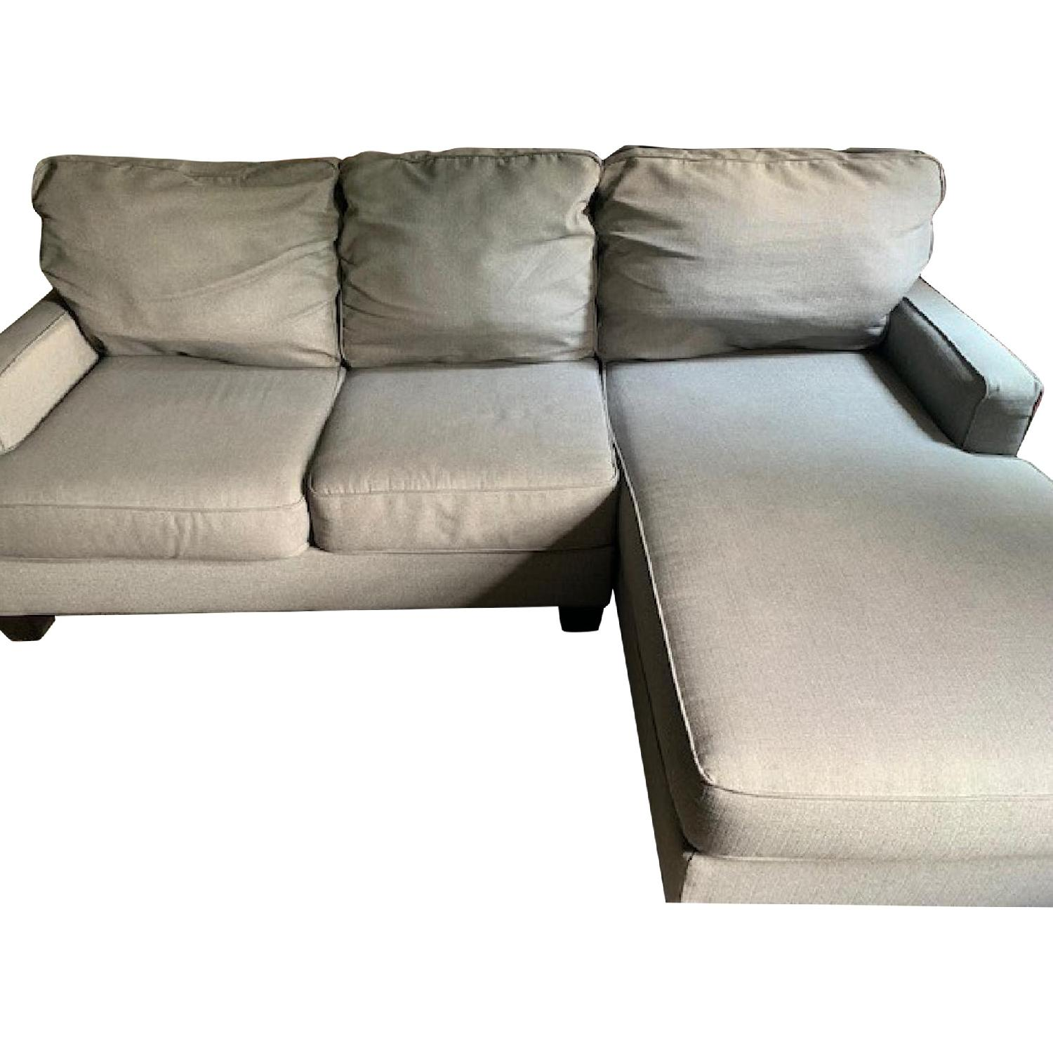 Ashley Chamberly Alloy 2 Piece Sectional Sofa