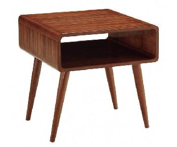 Langley Street Moreno Valley Mid Century End Table