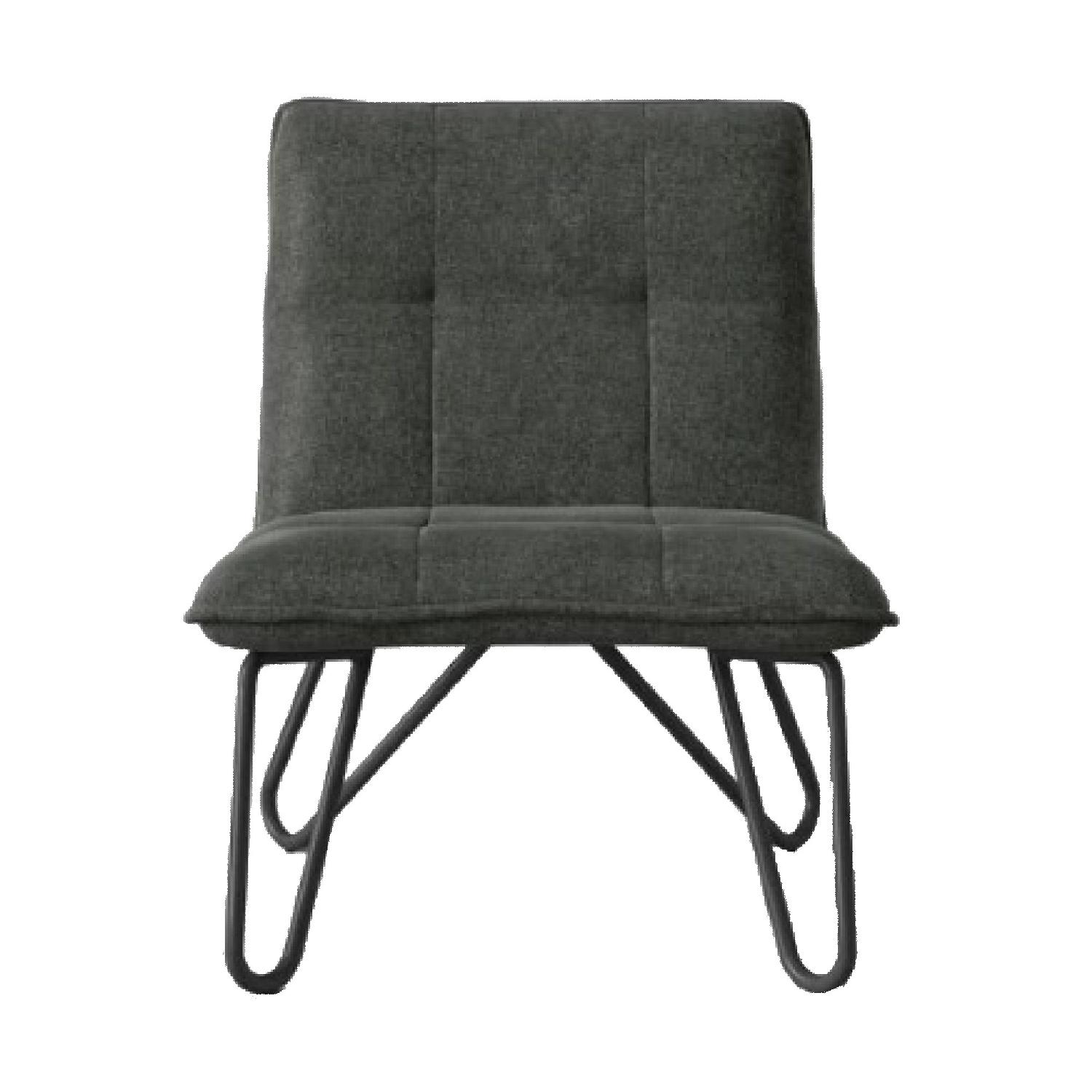 Target Project 62 Plenrith Hairpin Base Gray Slipper Chairs