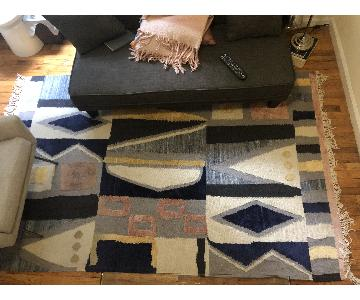 West Elm Abstract Pattern Area Rug