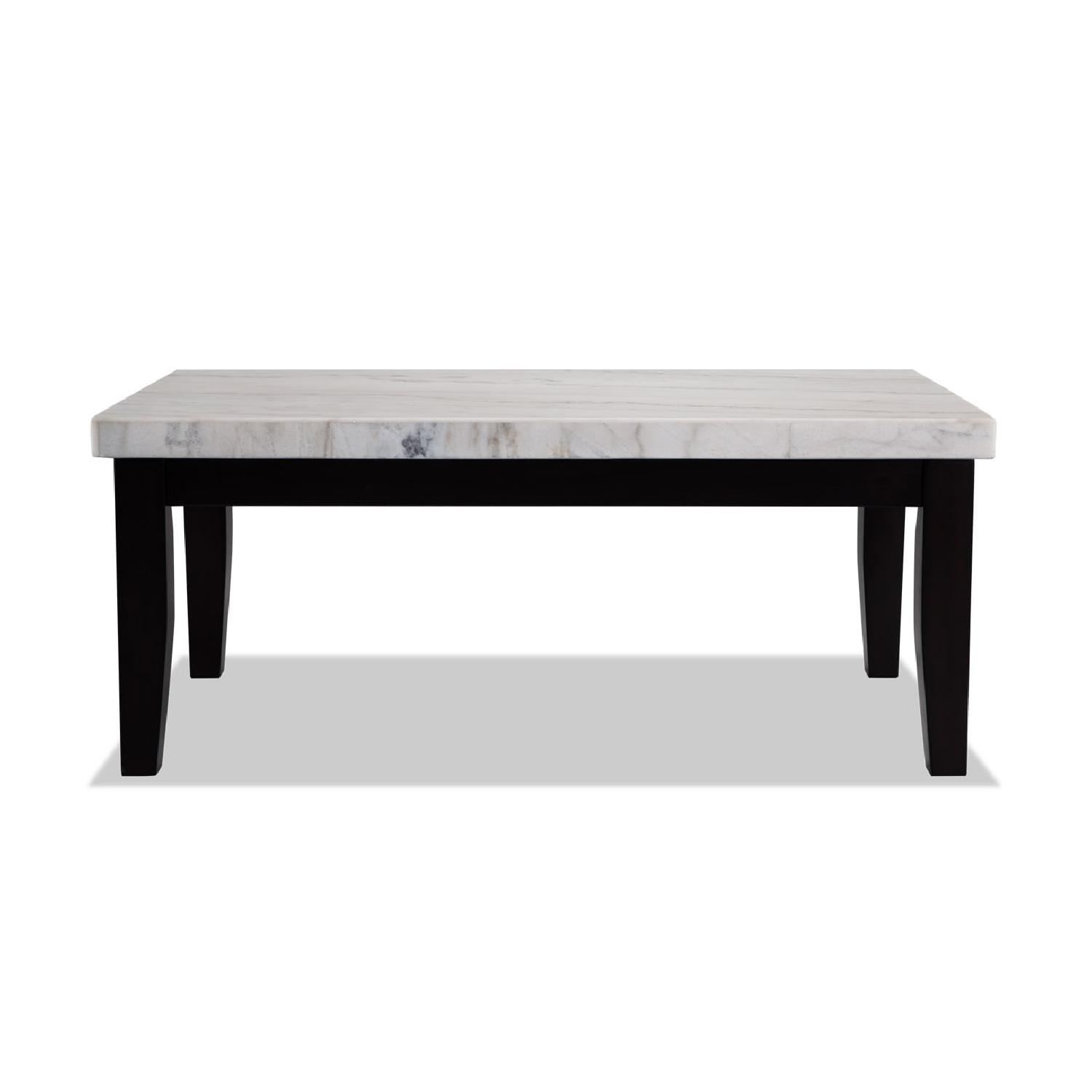 Bob S Marble Coffee Table 2 Matching End Tables Aptdeco