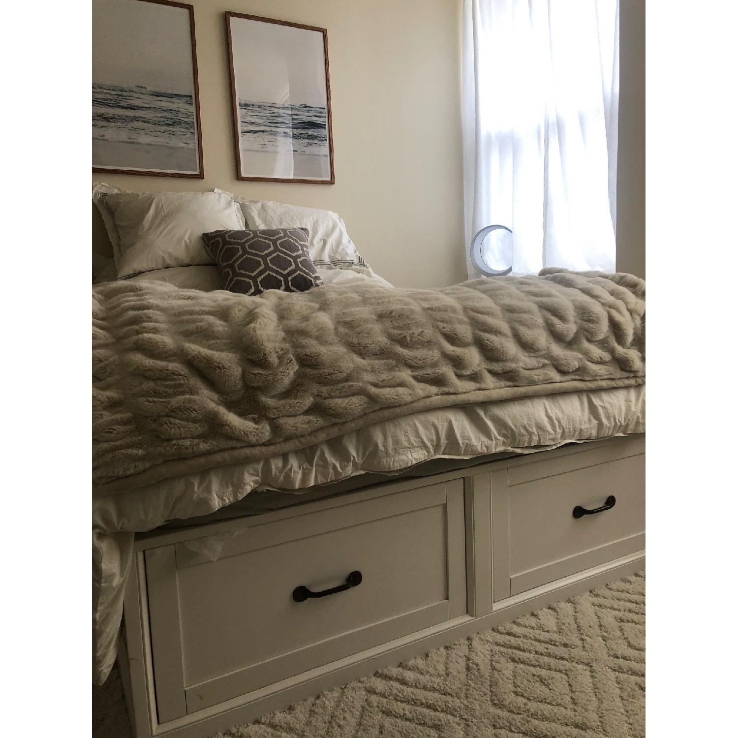 Pottery Barn Stratton Storage Bed