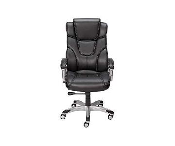 Staples Baird Leather Office Chair