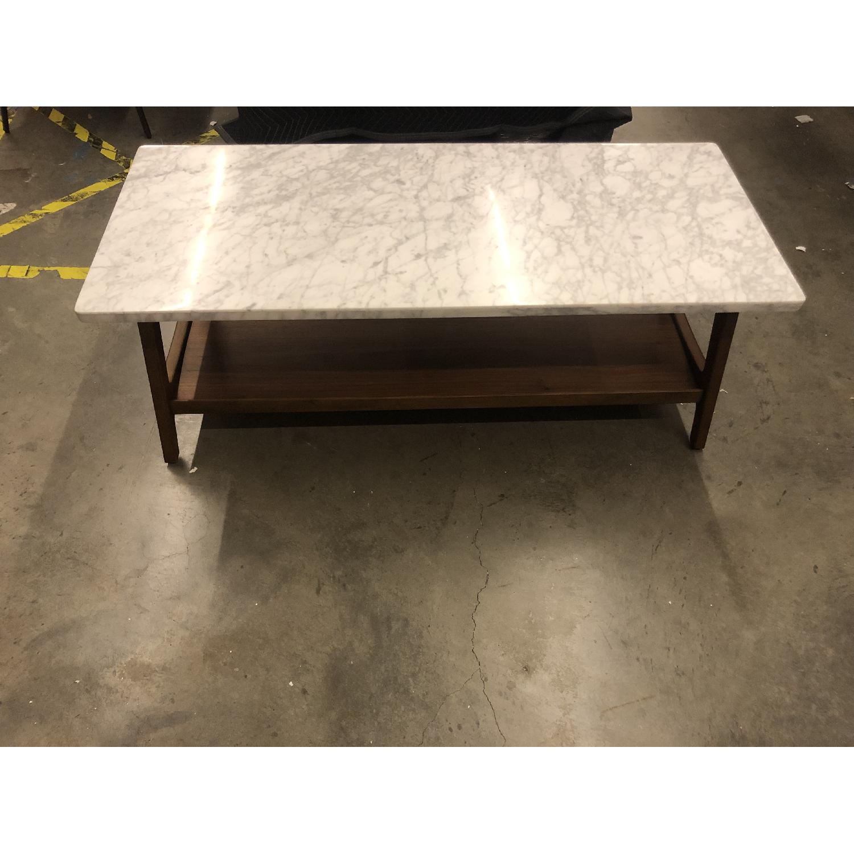 West Elm Reeve Mid Century Rectangular Coffee Table