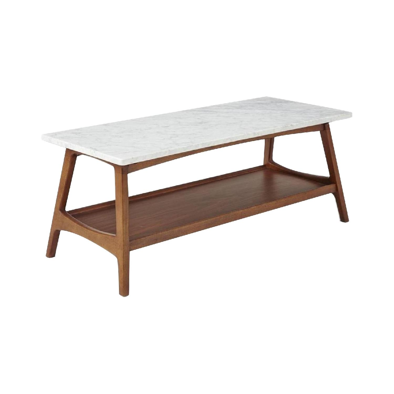 Reeve Mid Century Rectangular Coffee Table: West Elm Industrial Storage Pop Up Coffee Table