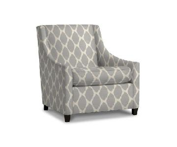 West Elm Gray Arm Chair