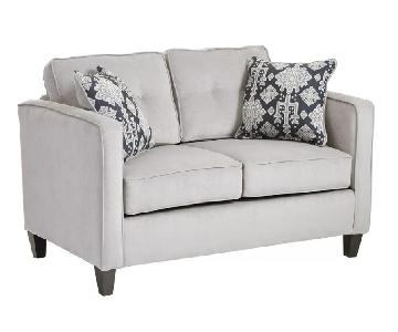 Joss & Main Silver Grey Leighanne Loveseat