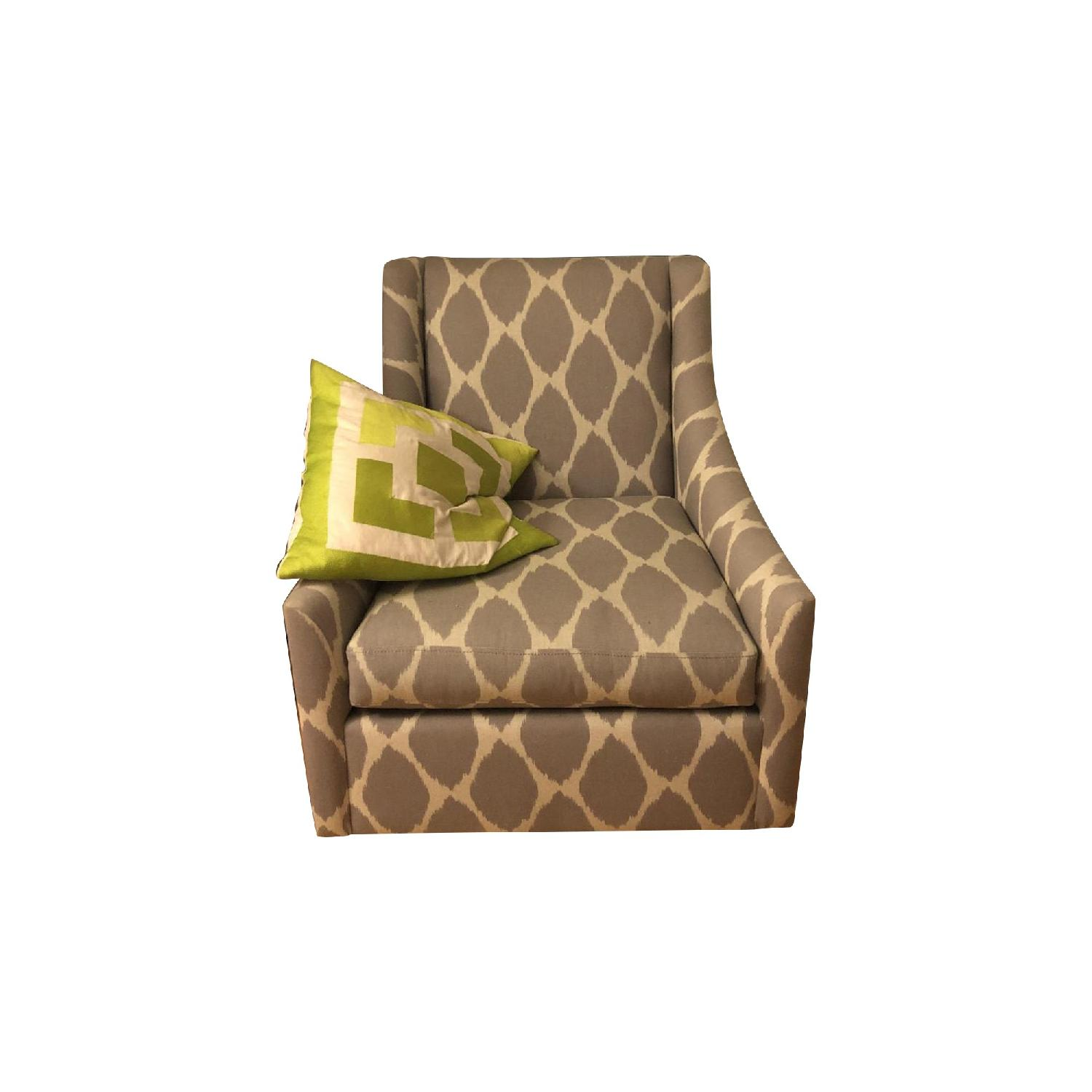 West Elm Sweep Upholstered Armchair