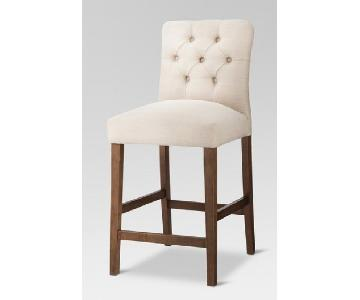 Target Threshold Brookline Tufted Barstools