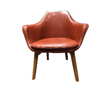 Dot & Bo Faux Leather Club Chairs
