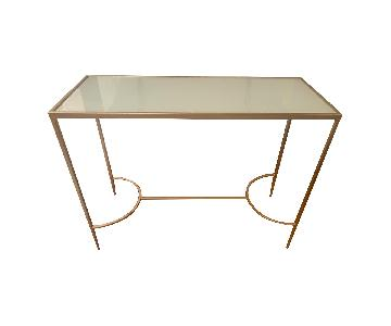 Glass TV/Entry Table