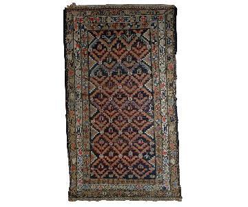 Antique Handmade Persian Hamadan Rug