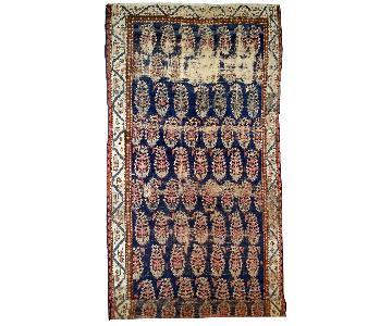 Antique Handmade Collectible Northwest Persian Runner Rug