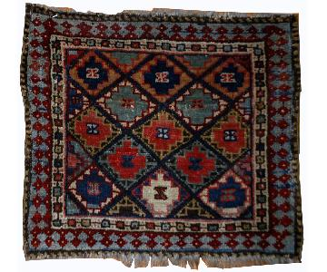 Handmade Collectible Persian Jaf Kurdish Bag Face Rug