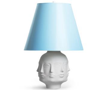 Jonathan Adler Dora Maar Table Lamp w/ White Porcelain Base