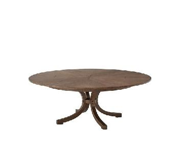 Theodore Alexander Avalon Expandable Round Dining Table