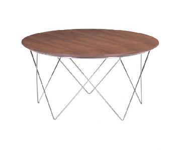 Zuo Modern Macho Coffee Table in Walnut