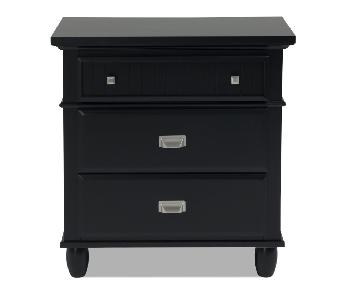 Bob's Spencer Black Nightstand