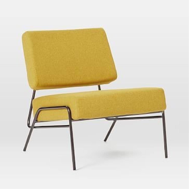 West Elm Wire Frame Slipper Chair