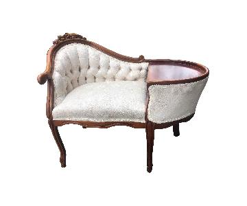 Vintage French Style Telephone Chair