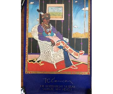 T.C. Cannon Offset Lithograph Collector #5