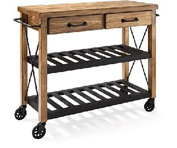 Crosley Wood Kitchen Island Cart