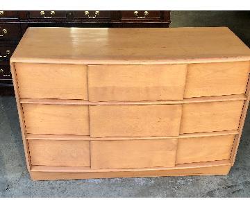 Heywood-Wakefield Mid Century Modern Champagne Dresser