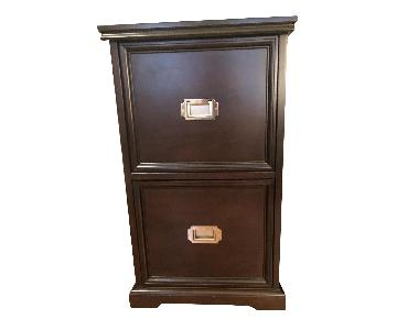 Pottery Barn 2 Drawer Filing Cabinet