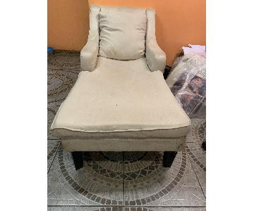 Off-White Lounge Chair