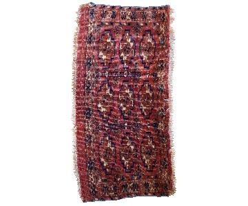 Antique Handmade Turkmen Tekke Torba Rug