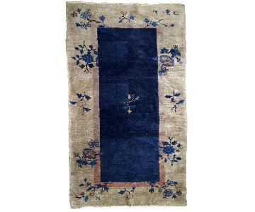 Antique Handmade Peking Chinese Rug
