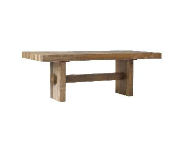 West Elm Emmerson Dining Table in Reclaimed Pine