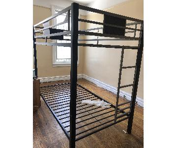 Black Bunk Bed