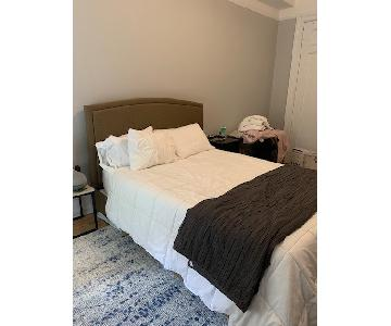 Upholstered Queen Sized Bed