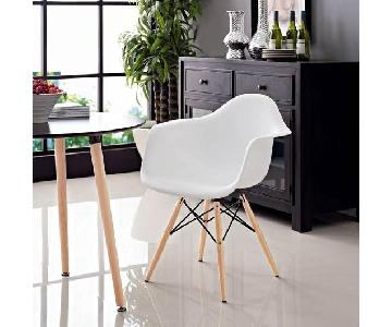 LexMod Eames Plastic Replica Armchairs - per set of 2