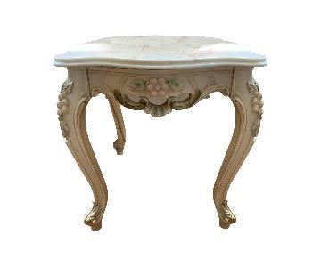 Vintage Marble Side Tables