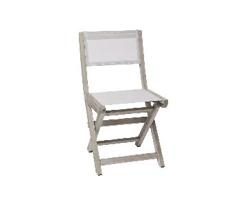 West Elm Portside Folding Bistro Chair