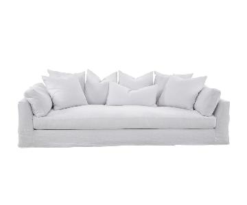 Banyan Slipcover Sofa in Snow