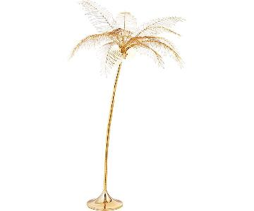 CB2 Ocean Palm Tree Floor Lamp