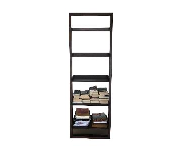 Pottery Barn Leaning Bookcase