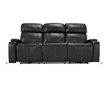 Raymour & Flanigan Stylus Power Reclining Sofa