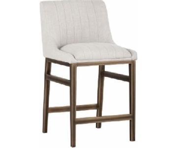 Sunpan Upholstered Barstool