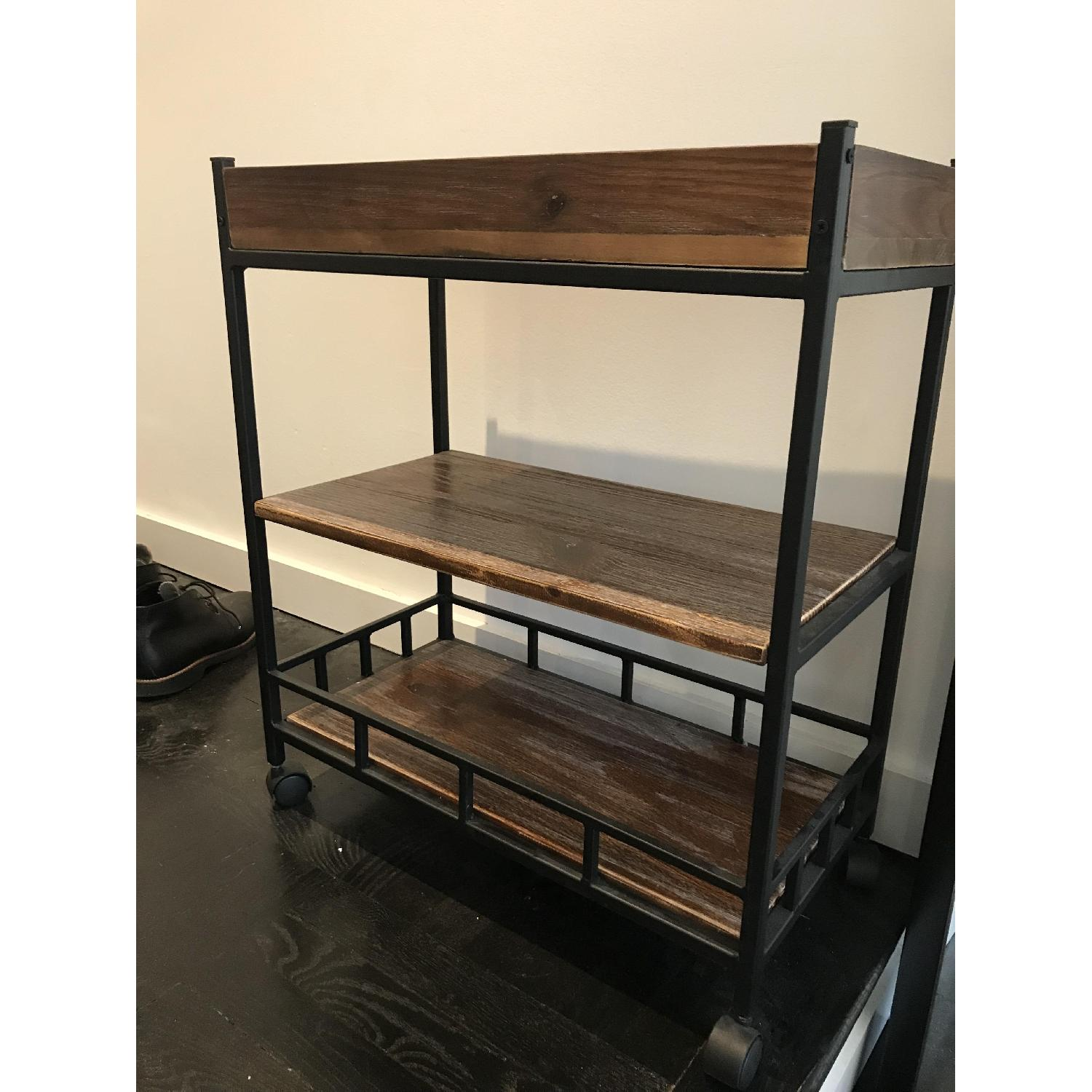 Industrial Bar Kitchen Cart