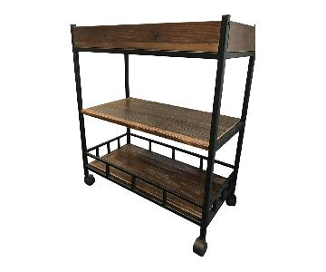 Industrial Bar Kitchen Cart